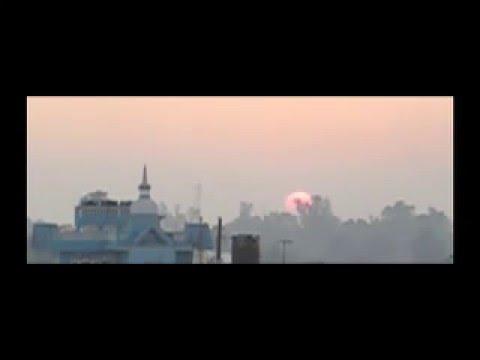 Sunset over Bharatpur