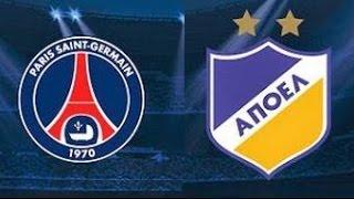 Previa del partido: PSG  vs Apoel - Liga de Campeones