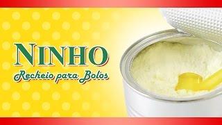 RECHEIO PARA BOLOS - CREME DE LEITE NINHO