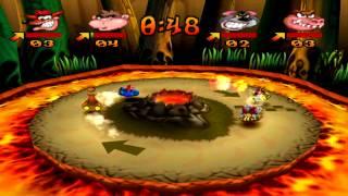 Crash Bash - Dante's Dash Platinum Relic