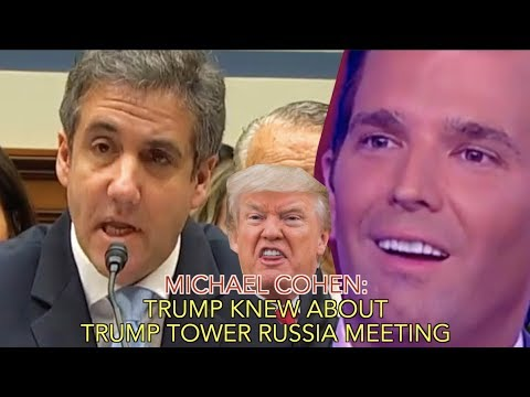 Michael Cohen: Trump Knew About Trump Tower Russian Meeting
