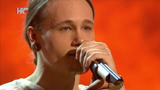 "Marin: ""Soldier Of Fortune"" - The Voice of Croatia - Season1 - Live4"