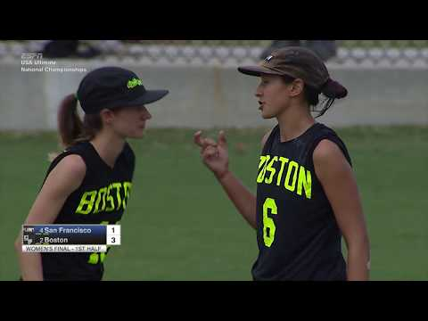 Video Thumbnail: 2017 National Championships, Women's Final: San Francisco Fury vs. Boston Brute Squad