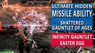 God of War AMAZING Infinity Gauntlet Easter Egg - Unlock Missiles on the Shattered Gauntlet of Ages