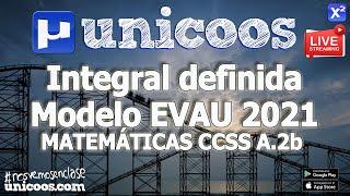 Imagen en miniatura para LIVE!!! Modelo EvAU 2021- Matemáticas CCSS 02 - Ejercicio A.2b