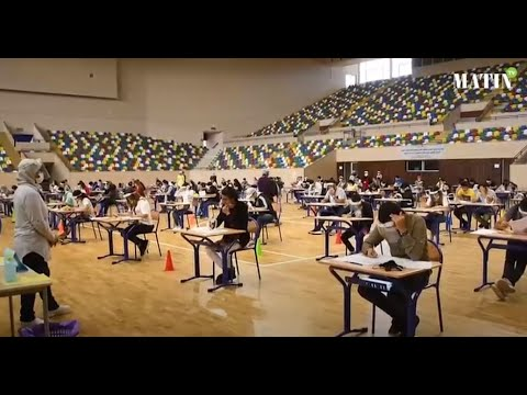 Video : Bac 2020 : Le complexe Moulay Abdellah de Rabat accueille les bacheliers