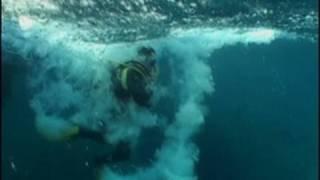 Scuba Diving in a Tsunami
