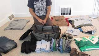 Cum asezi corect hainele in bagajul de mana