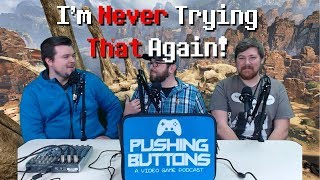 I'm Never Trying That Again! Out of the Comfort Zone Challenge! - Pushing Buttons