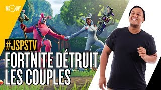 Je sais pas si t'as vu... Fortnite détruit les couples