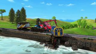 Chuggington (US) - Friendship With 'Fearless Wilson'