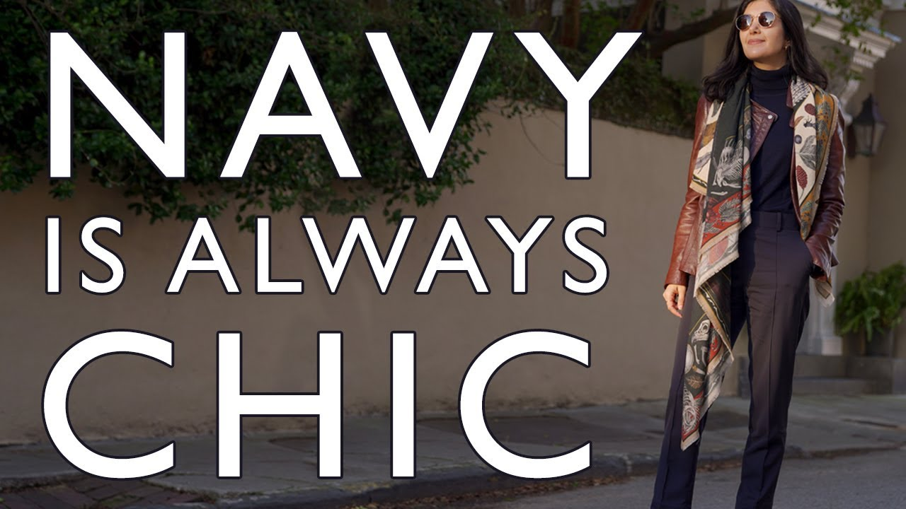 How To Wear NAVY & How I Use It To Look CHIC