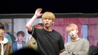 170812【Runnerイントロダンスコンテスト クン】UP10TION 업텐션 【STAR;DOM】Release Event@山野ホール 2部 #쿤