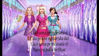Ela É Uma Princesa - Barbie