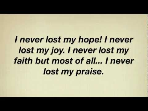 Tramaine Hawkins - I Never Lost My Praise (with lyrics ...