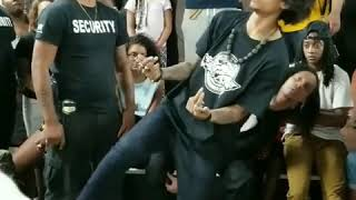 Les Twins | Larry killing freestyle in Baltimore - Big Bidness