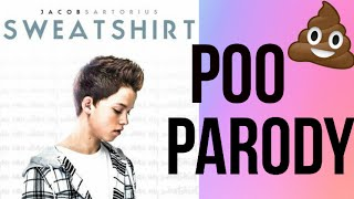 Sweatshirt - Jacob Sartorius Poo Parody - Pitted Prunes