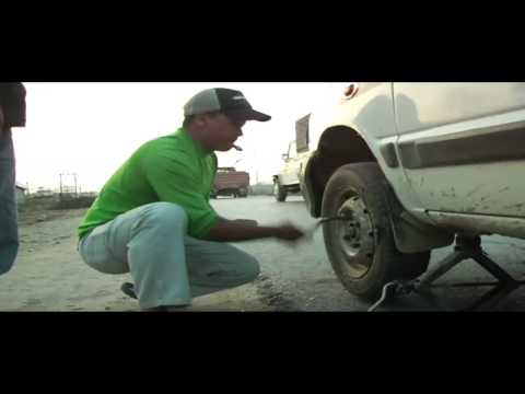 The Super Freshest Flat Tire Change Ever, Road Stories w/ Pangeality Productions