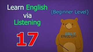 Learn English via Listening Beginner Level | Lesson 17 | Thanksgiving