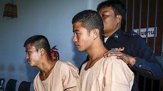 Tailândia condena à morte 2 birmaneses pelo homicídio de 2 turistas britânicos