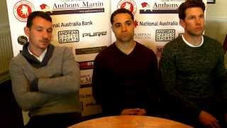 Welling United Pre Season 2015-16 Management Team interview