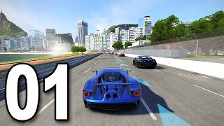 Forza 6 - Part 1 - 2017 Ford GT (Let's Play / Walkthrough / Gameplay)