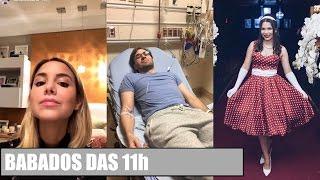 LUISA ACCORSI faz preenchimento labial, BRKS EDU no hospital, Festa de 100K da Ursula!