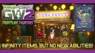 PvZ Garden Warfare 2 - RUX is Back! Rux Selling Infinity Items, but no New Abilities!