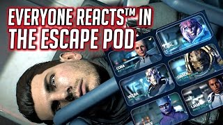 Mass Effect Andromeda: Everyone Reacts™ to Peebee Launching the Escape Pod