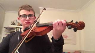 A SPOONFUL OF SUGAR cover by violin