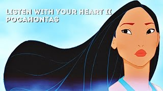 Pocahontas Soundtrack - Listen With Your Heart II