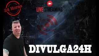 Divulgando Canais (AO VIVO) - LIVE 24H 🔴 GANHE MUITOS INSCRITOS | Divulga24h