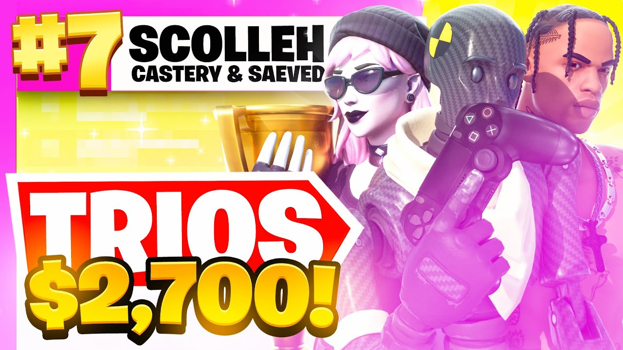 scolleh - 7TH PLACE in the TRIO CASH CUP 🏆 ($2700) | Scolleh