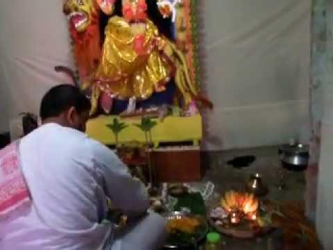 Jagadhatri Puja1/2  ヒンズー教の行事 Rajshahi BANGLADESH 2012