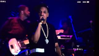 Jay Z - Tidal B-Sides Concert Freestyle