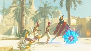 ThunderBlight Ganon in Gerudo Town - Zelda Breath of the Wild