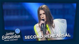 Roksana Węgiel - Anyone I Want To Be - Second Rehearsal - Poland 🇵🇱 - Junior Eurovision 2018