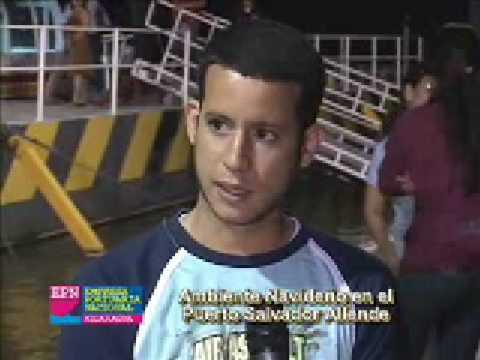 EPN Navidad Puerto Salvador Allende