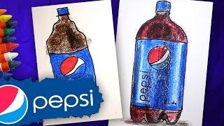 Рисуем бутылку Pepsi