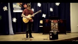 The Lonely Shepherd guitar improvised solo (15 yrs old)