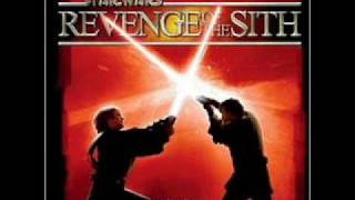 "Star Wars Revenge of the Sith unreleased song-""Be careful of your friend"""