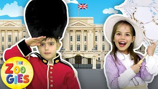 London Bridge is Falling Down 🎡🇬🇧💂#ZouzouniaTV Nursery Rhymes & Kids Songs