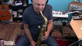 Tic Toc Saxophone Music and Backing Track