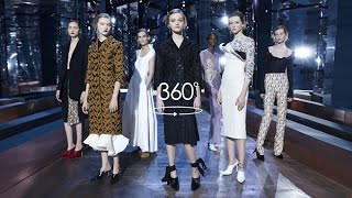 Dior couture Spring-Summer 2016 Show - 360°