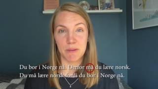 God i norsk - Kap 15 - derfor / fordi