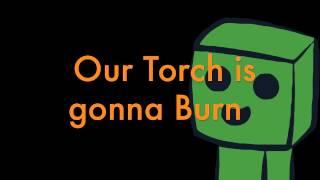 "Burn [Minecraft Parody of Ellie Goulding's ""Burn""]"
