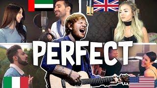 Perfect Ed Sheeran CoverBuzz Mix Versions usa,italy,china,uk