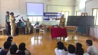 sabarigiri senior secondary school punalur fire & safety mock drill