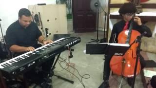 A bela e a fera - Sentimentos são - piano violoncelo cover (piano: Arquemedes, violoncelo: Wagner)