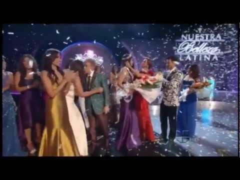 Coronación de Nastassja Bolivar como Nuestra Belleza Latina 2011 – Nicaragua